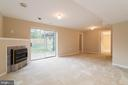 Basement rec room and walk out level - 40 LAKESIDE DR, STAFFORD