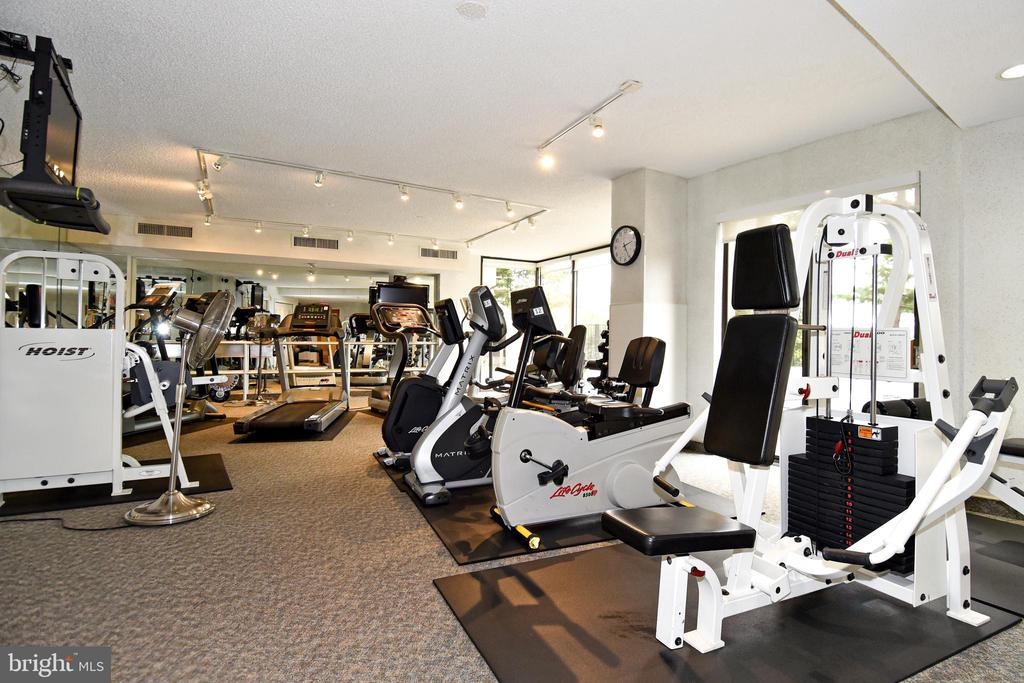 Fitness Center on Level P1 - 1101 S ARLINGTON RIDGE RD #903, ARLINGTON