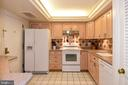 Spacious Kitchen with Breakfast Bar on the Left - 1101 S ARLINGTON RIDGE RD #903, ARLINGTON