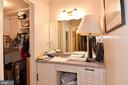 Master Bedroom Dressing Area & Walk-In Closet - 1101 S ARLINGTON RIDGE RD #903, ARLINGTON