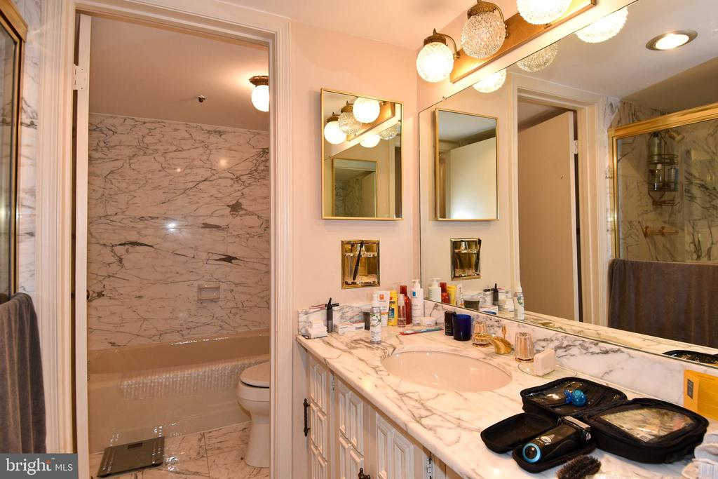 Master Bath with Soaking Tub - 1101 S ARLINGTON RIDGE RD #903, ARLINGTON