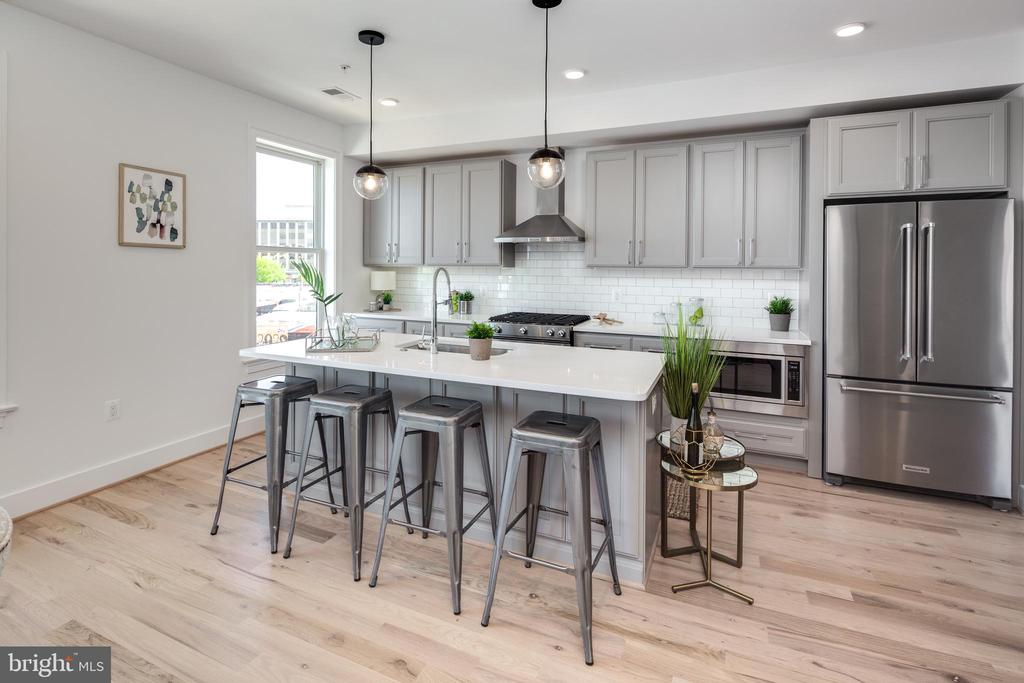 Photo of a Similar Unit: Kitchen - 4335 HARRISON ST NW #8, WASHINGTON