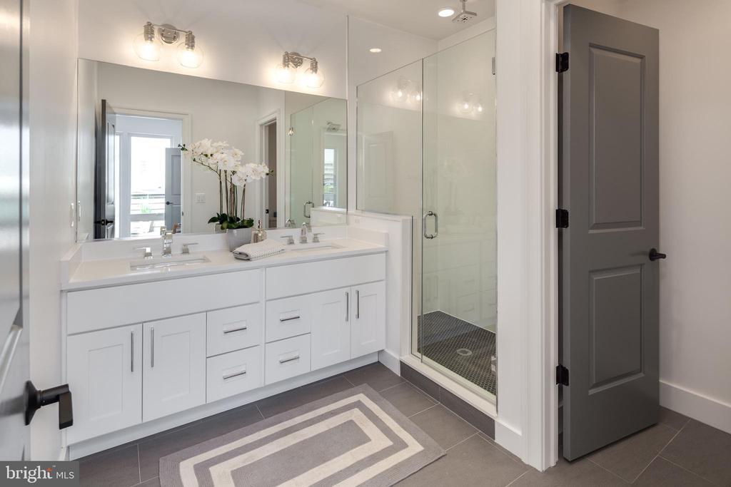 Photo of a Similar Unit: Bathroom - 4335 HARRISON ST NW #8, WASHINGTON
