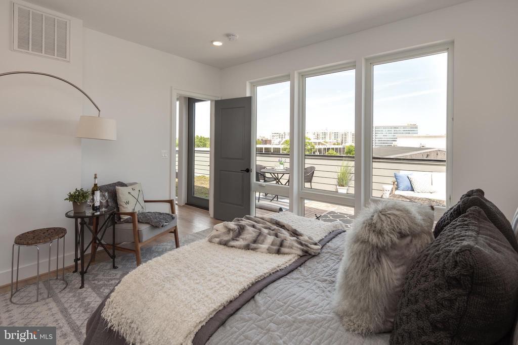 Photo of a Similar Unit: Bedroom - 4335 HARRISON ST NW #8, WASHINGTON