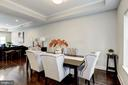 Dining/Living room combo. - 3513 22ND ST S, ARLINGTON