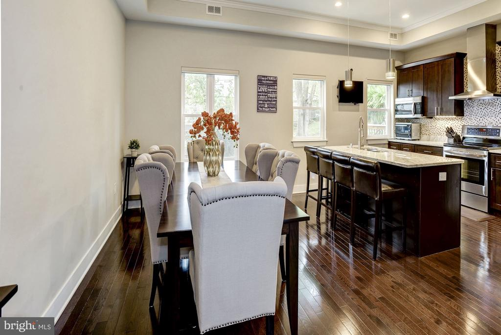 Separate dining area, as well as breakfast bar. - 3513 22ND ST S, ARLINGTON