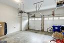 Two car garage, with extra storage space. - 3513 22ND ST S, ARLINGTON
