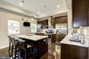 Updated kitchen, with stainless steel and granite. - 3513 22ND ST S, ARLINGTON