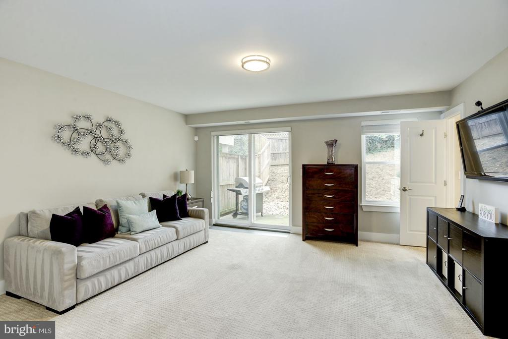 Walk-out lower level with full bathroom. - 3513 22ND ST S, ARLINGTON