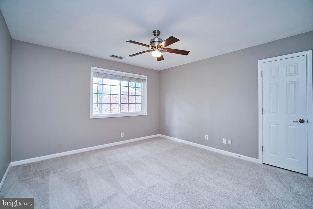 Overhead lighting and ceiling fans in both bedroom - 1289 N VAN DORN ST, ALEXANDRIA