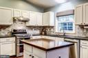 Kitchen - Bonus Island + Great Circular Flow! - 20617 PREAKNESS CT, ASHBURN