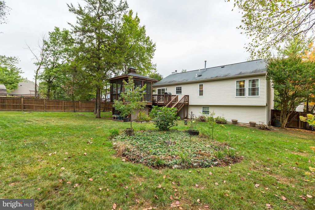 Back Yard - Splendid Space to Grow a Garden! - 20617 PREAKNESS CT, ASHBURN