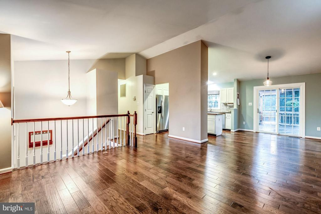 Living Room - Gleaming Hardwood Floors! - 20617 PREAKNESS CT, ASHBURN