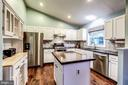 Kitchen - Tremendous Amts of Counter Top Space! - 20617 PREAKNESS CT, ASHBURN