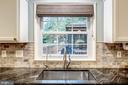 Window Over SS Sink Looks Out to Lovely Backyard! - 20617 PREAKNESS CT, ASHBURN