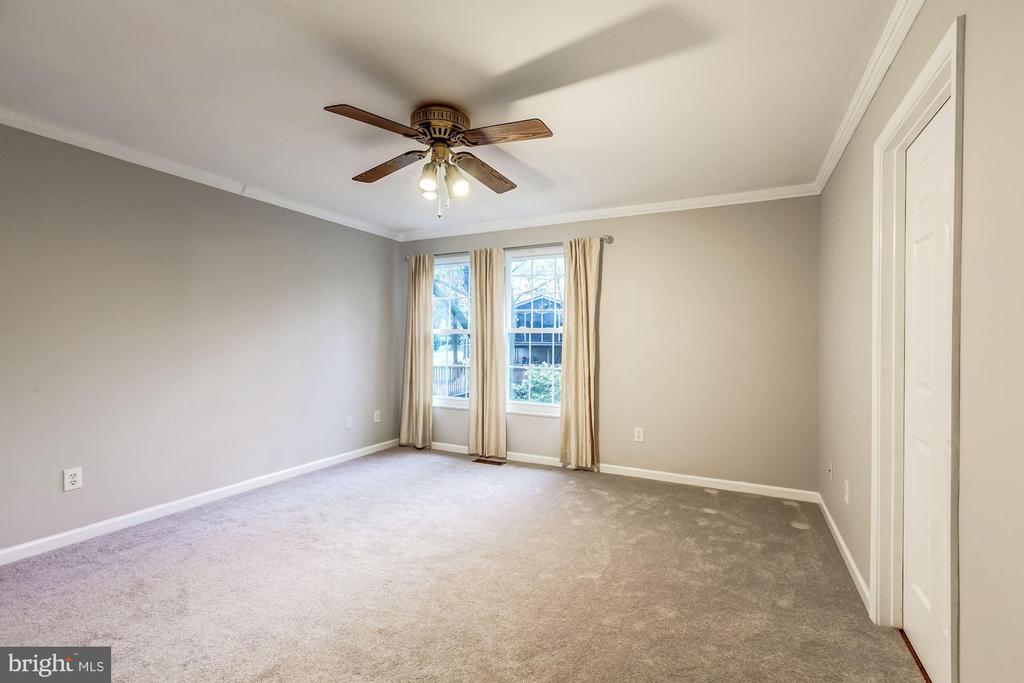 Master Bedroom - Spacious, New Carpet, Ceiling Fan - 20617 PREAKNESS CT, ASHBURN