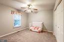 Bedroom #2 - New Carpet, Fresh Paint, Ceiling Fan - 20617 PREAKNESS CT, ASHBURN