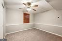 Bedroom #3 - New Carpet, Fresh Paint, Ceiling Fan - 20617 PREAKNESS CT, ASHBURN