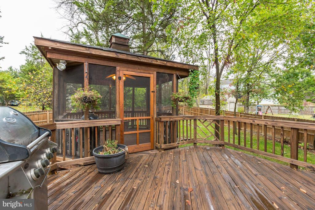 Gazebo - Screened In - Come On In & Relax! - 20617 PREAKNESS CT, ASHBURN