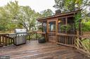 Deck Opens Up to Spacious Gazebo! - 20617 PREAKNESS CT, ASHBURN