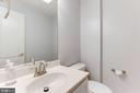 Lower Level Half Bath - 5266 COLONEL JOHNSON LN, ALEXANDRIA