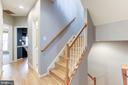 Upper Level Stairs - 5266 COLONEL JOHNSON LN, ALEXANDRIA