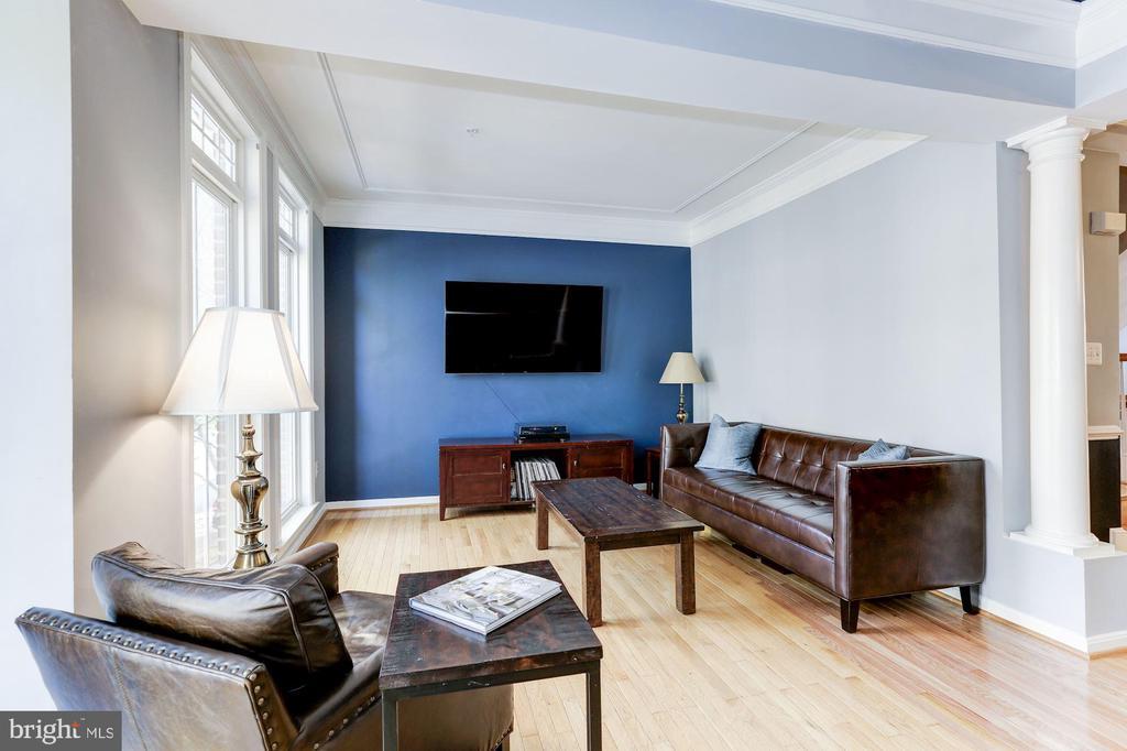 Living Room - 5266 COLONEL JOHNSON LN, ALEXANDRIA