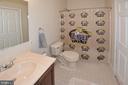 Lower level full bath - 9315 PAUL DR, MANASSAS PARK