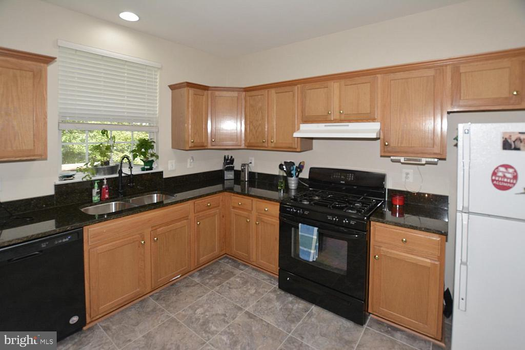 New SS sink and faucet, Newer dishwasher - 9315 PAUL DR, MANASSAS PARK