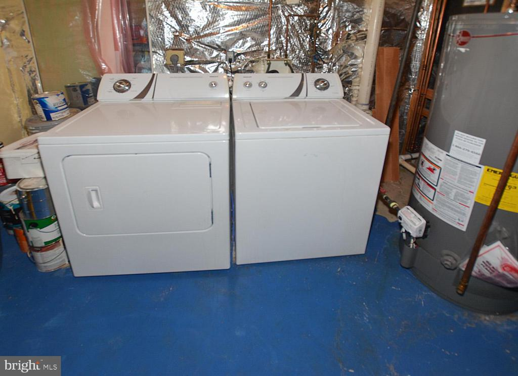 Washer and dryer convey in LL utility room - 9315 PAUL DR, MANASSAS PARK