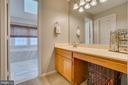 Master Bath Vanity - 260 GREENSPRING DR, STAFFORD