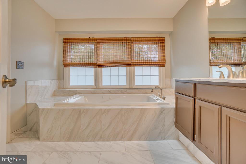 Recently Renovated Master Bathroom - 260 GREENSPRING DR, STAFFORD