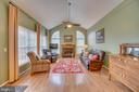 Fireplace and Feature Windows - 260 GREENSPRING DR, STAFFORD