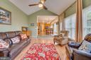 High Vaulted Ceiling in Family Room - 260 GREENSPRING DR, STAFFORD