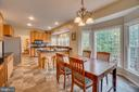 Breakfast Area - 260 GREENSPRING DR, STAFFORD
