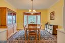 Formal Dining Room - 260 GREENSPRING DR, STAFFORD