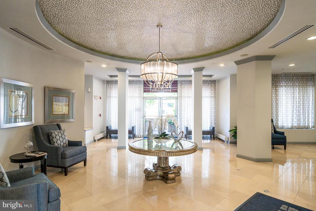 Elegant main lobby - 12001 MARKET ST #158, RESTON
