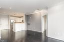 Light filled open living area - 12001 MARKET ST #158, RESTON