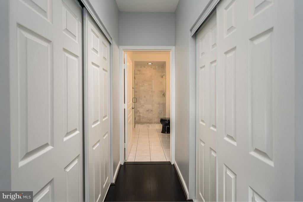 Double Closets in Master - 12001 MARKET ST #158, RESTON