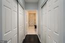 Double Closets in Master - 12001 MARKET ST #158, RESTON