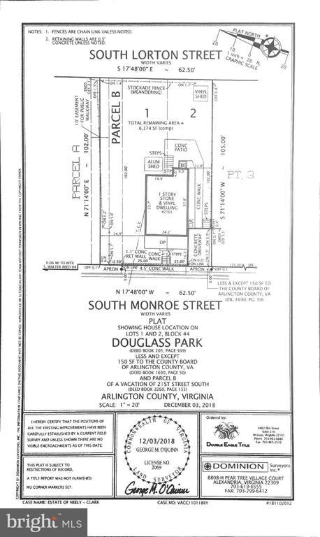 - 2101 S MONROE ST, ARLINGTON