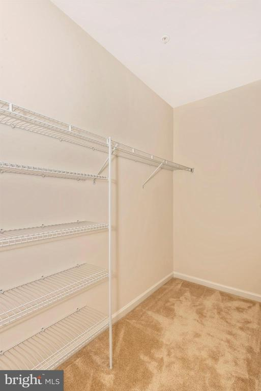 Master Walk In Closet - 6469 JACK LINTON DRIVE SOUTH, FREDERICK