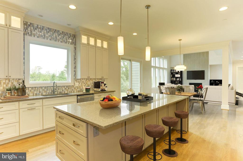 Stunning Kitchen - 6517 HEATHER GLEN WAY, CLARKSVILLE