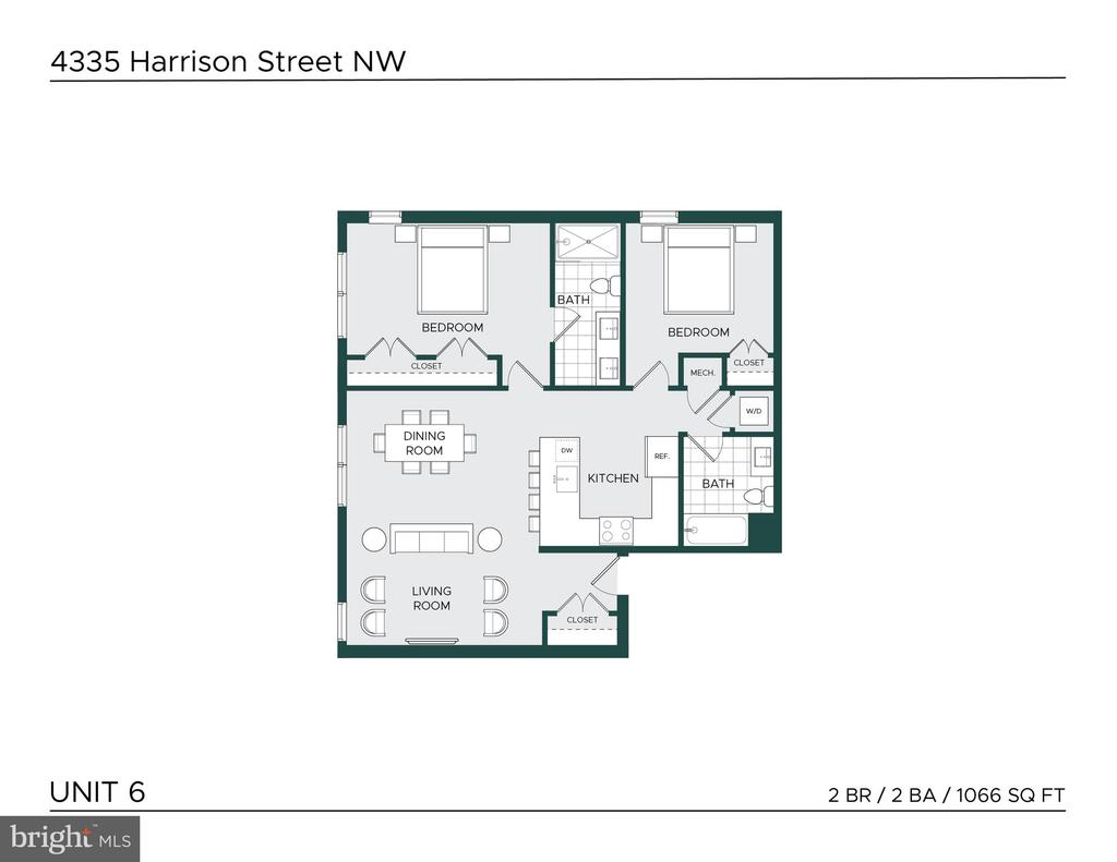 Welcome home to 4335! - 4335 HARRISON ST NW #6, WASHINGTON