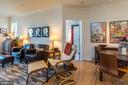 Living and Dining Areas - 1391 PENNSYLVANIA AVE SE #508, WASHINGTON
