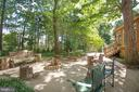 Fire pit area in the backyard - 5060 LAVELLE DR, FREDERICKSBURG