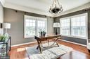 Rear Library w/ 4- Piece Crown Molding - 20353 TANAGER PL, LEESBURG