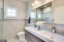 Newly Renovated Main Hall Bath - 20353 TANAGER PL, LEESBURG