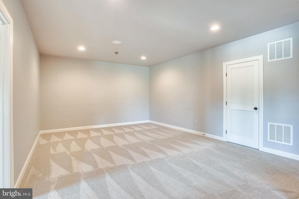New Carpet in Recreation Room - 20353 TANAGER PL, LEESBURG