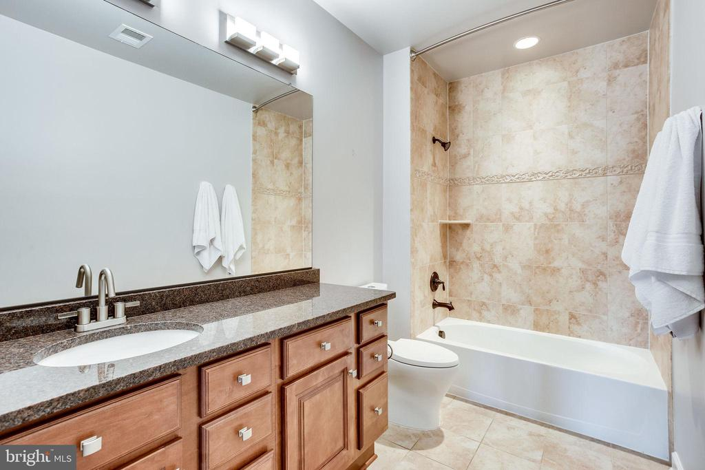 Newly Renovated Lower Level Full Bath w/ Granite - 20353 TANAGER PL, LEESBURG